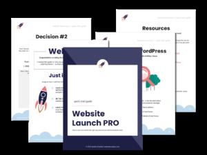 Quick Start Guide | Website Launch PRO